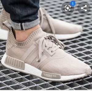 Adidas NMD R1 Primeknit Tan french sneakers 6